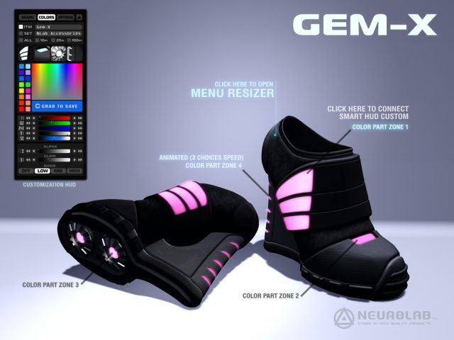 [NeurolaB Inc.] GEM-X Boots - HUD Poster Final 2012_1