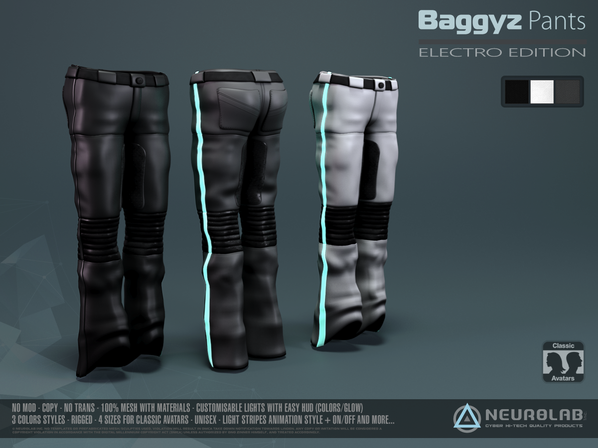BAGGYZ Pants/Shorts Collection *Update*