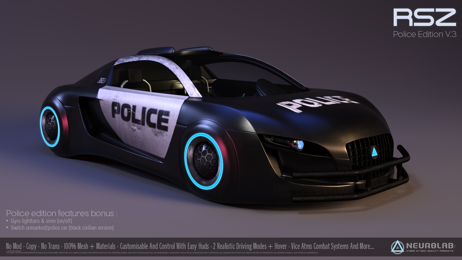 RSZ Interceptor POLICE (V.3)