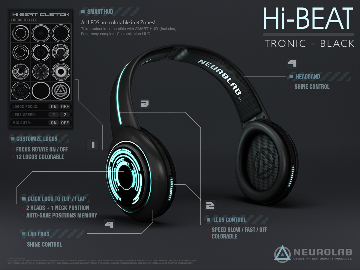 Hi-BEAT 4 Tronic (Black & White)