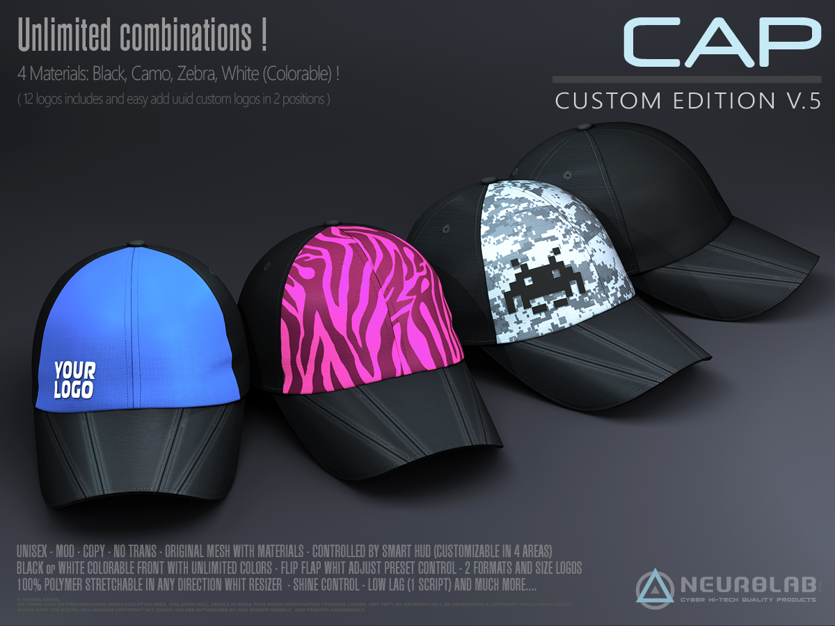 MESH Caps V.5 (Collection)