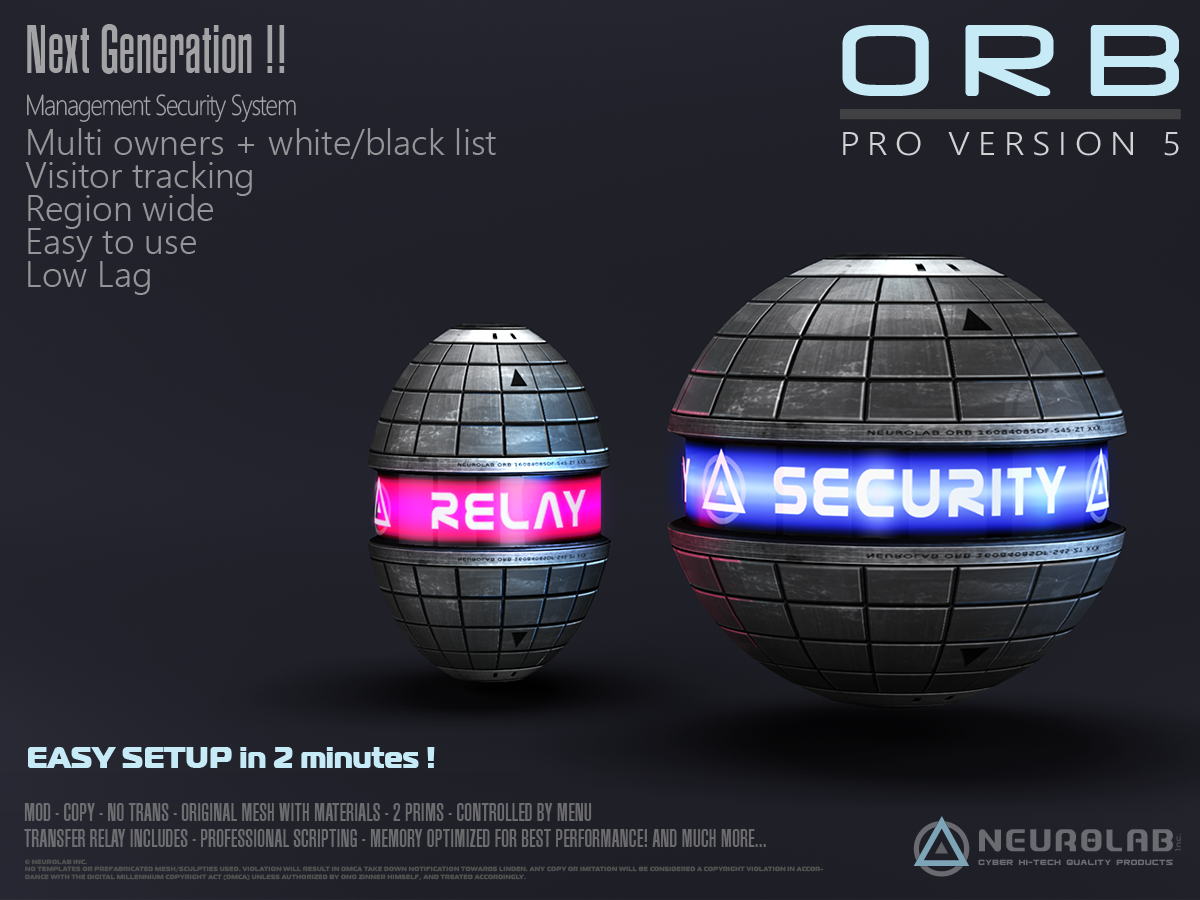 ORB Pro Security V.5