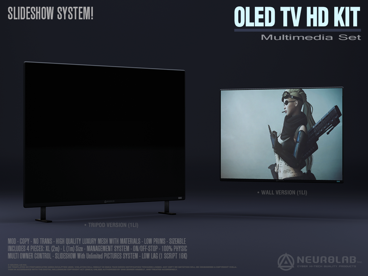 OLED TV HD KIT V.2