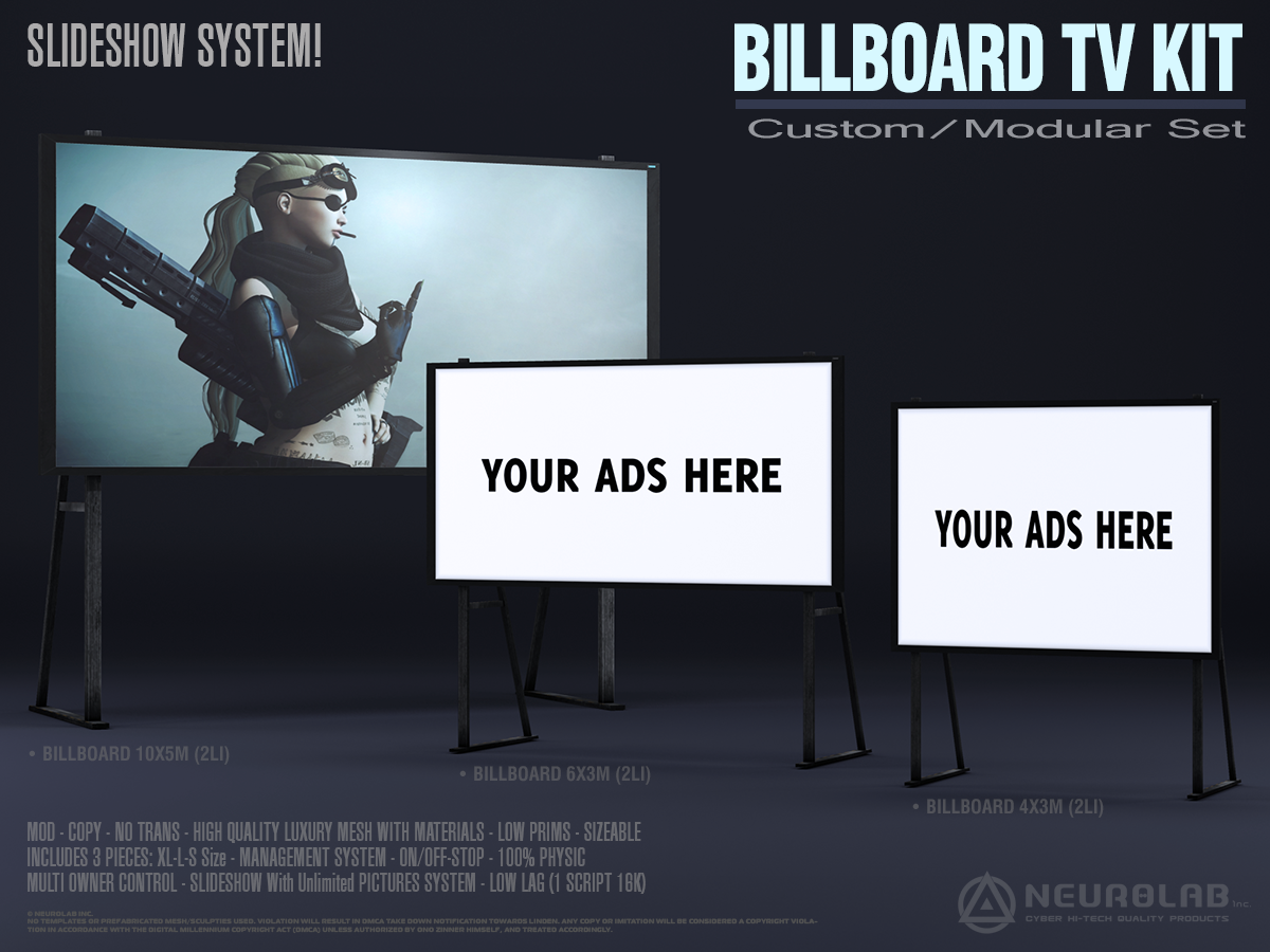 BILLBOARD TV KIT