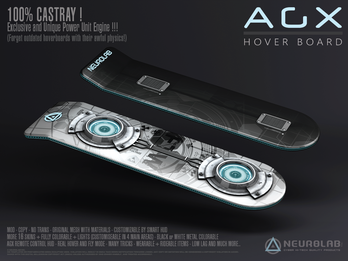 *NEW* AGX HOVERBOARD V.2.0 [FR]