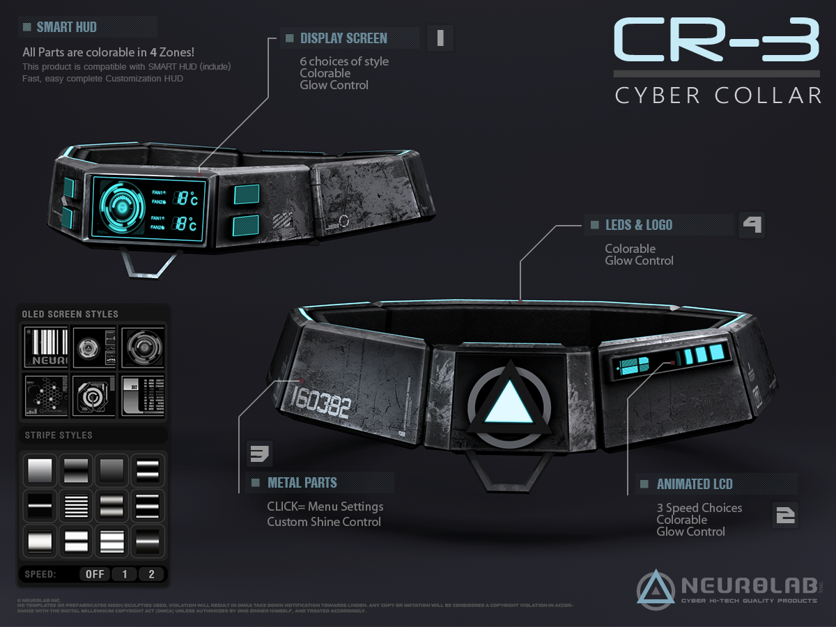 Cyber Collars CR-3 (RLV)