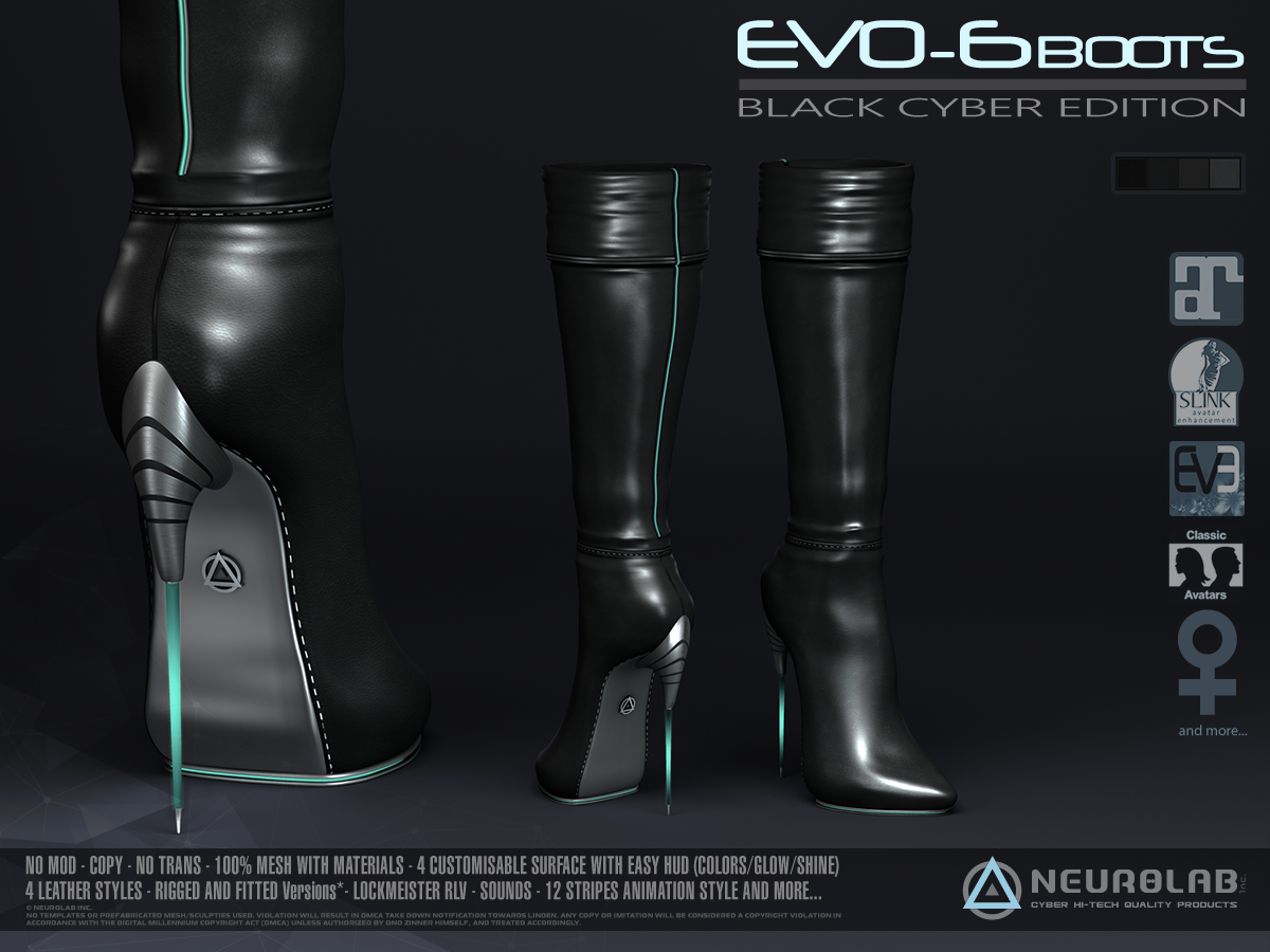 EVO-6 Boots Collection (V.2)