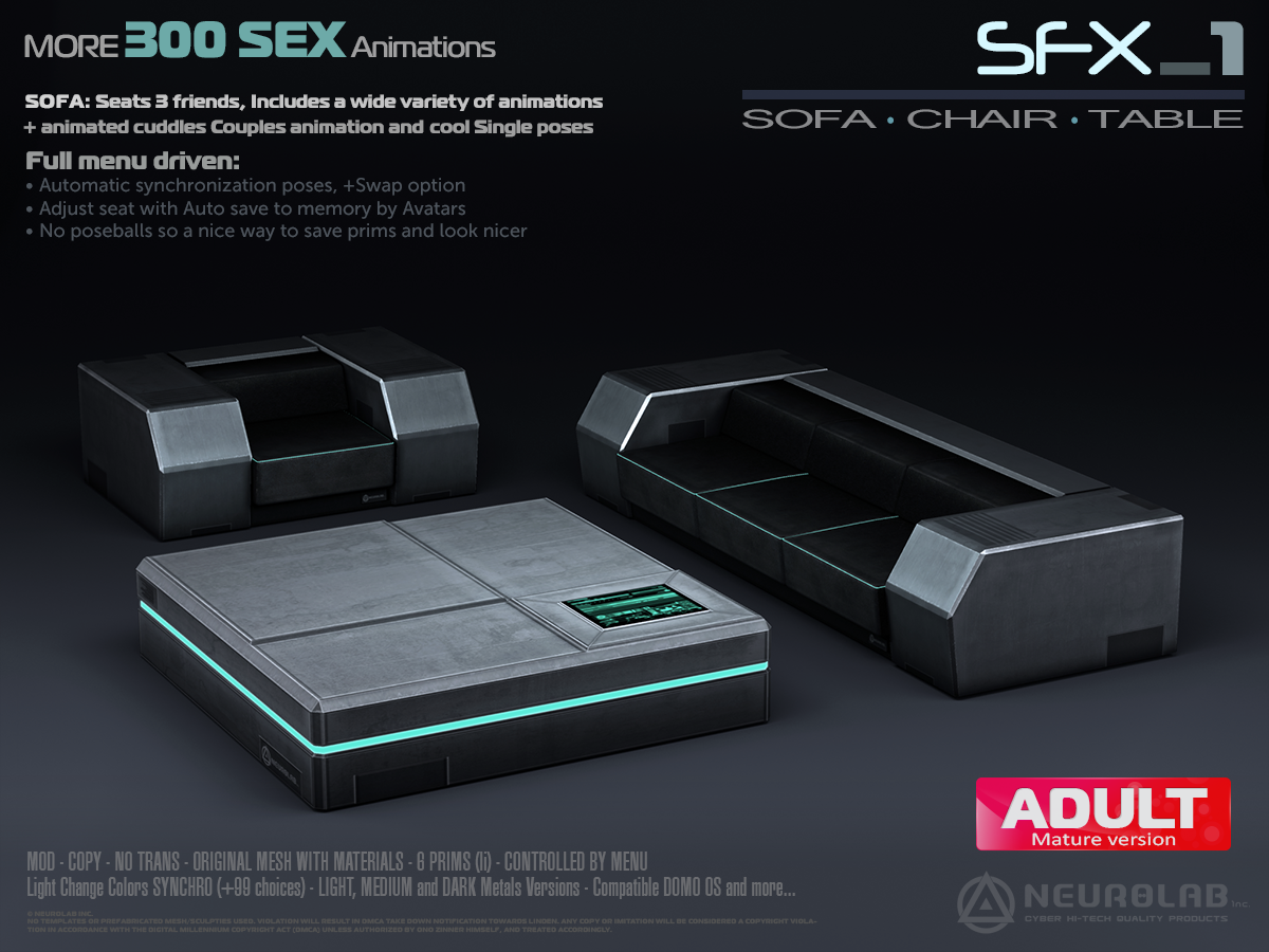 SFX-1 SOFA LOUNGE SET (V.2) [EN]