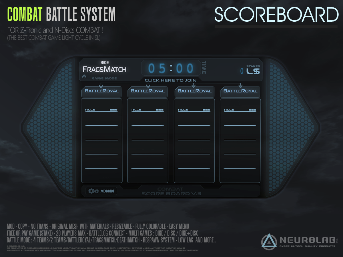 BATTLE ScoreBoard (V.3.2) *Update*