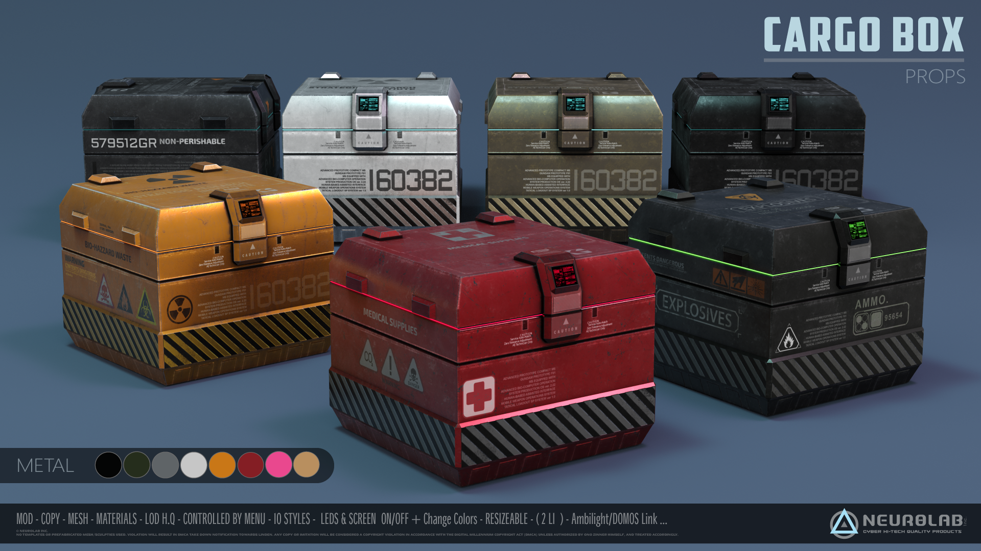 Ammo & Cargo Box (2.5) *NEW*
