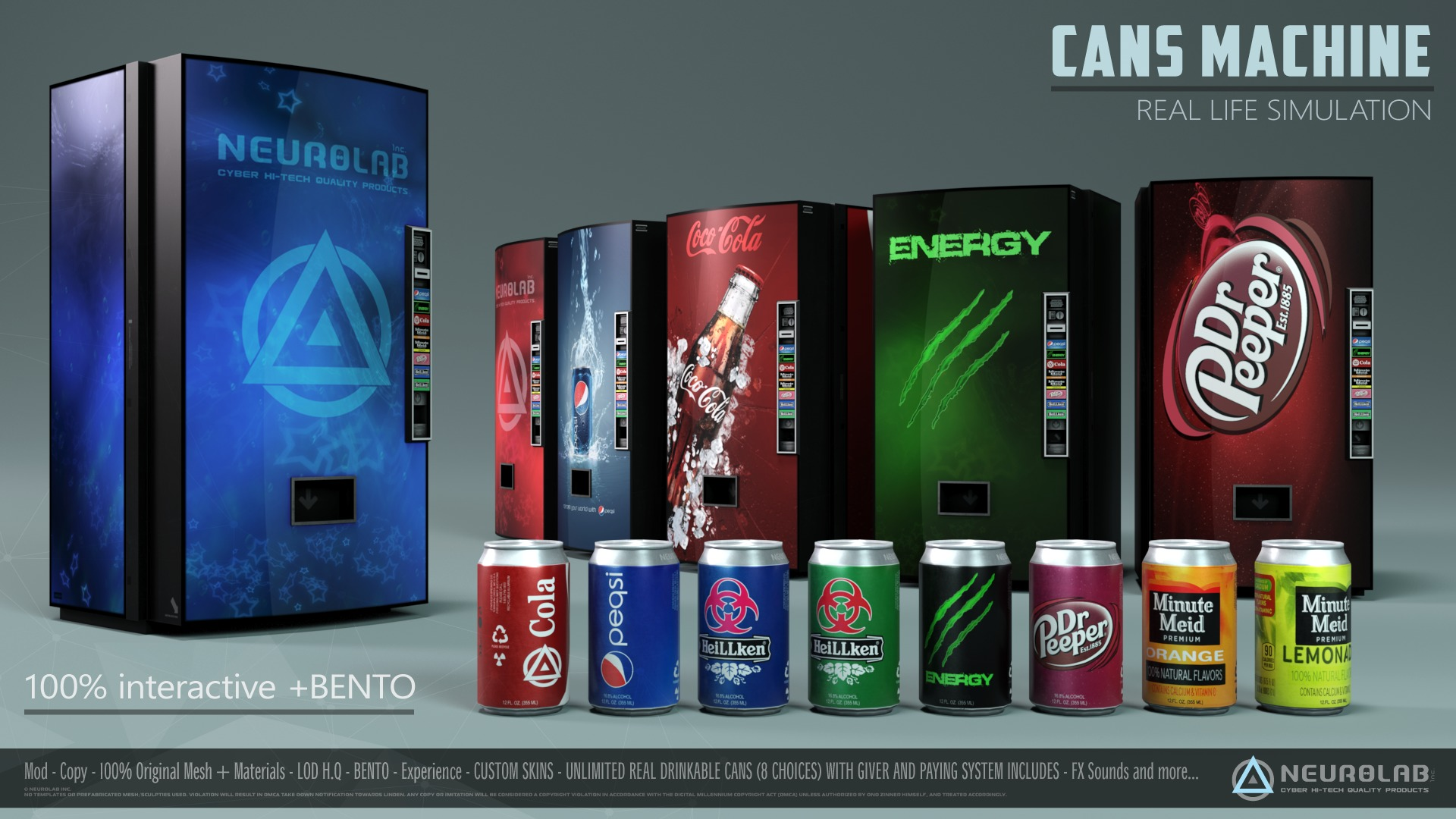 CANS MACHINE V.2.6 [EN] *Updated*