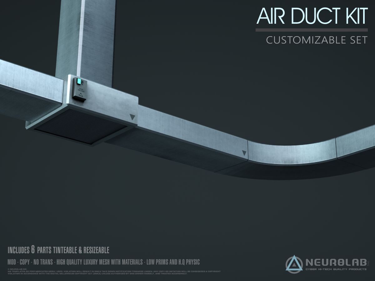 AIR DUCT KIT *NEW*