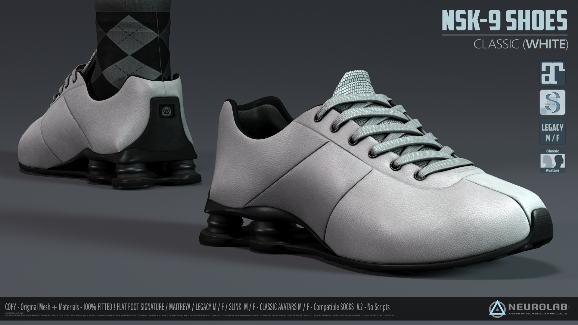 NSK-9 Sneakers (Classic's Edition) [3.0] *Update*