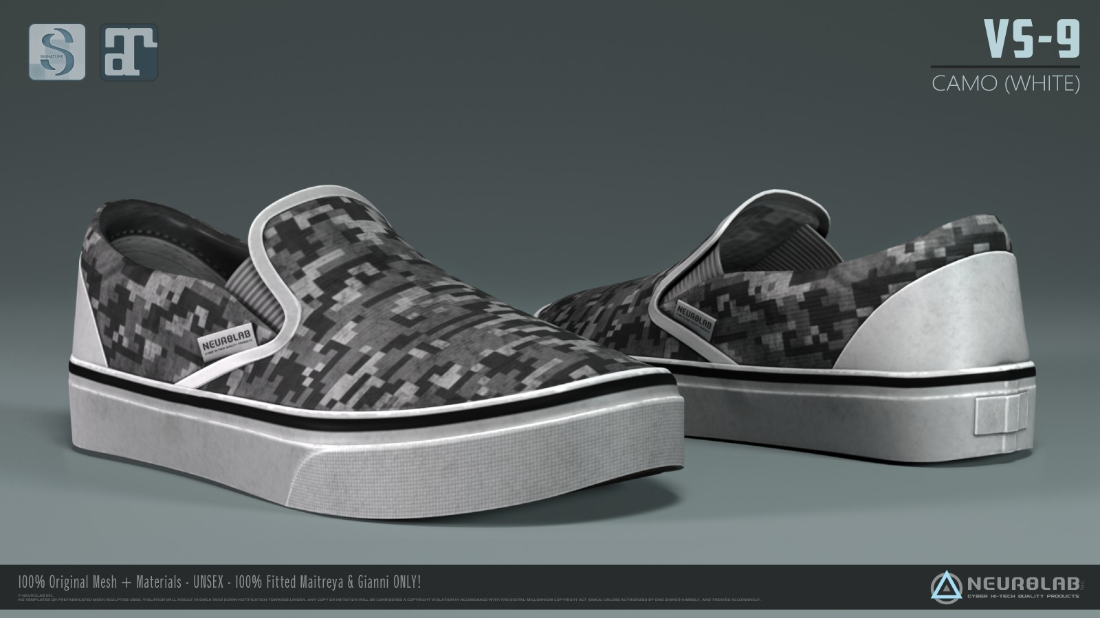 VS-9 Sneakers (Camo Edition Collection) *NEW*