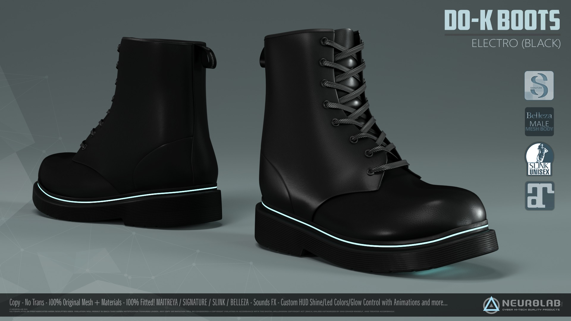 D0-K BOOTS (Electro Collection) *NEW*