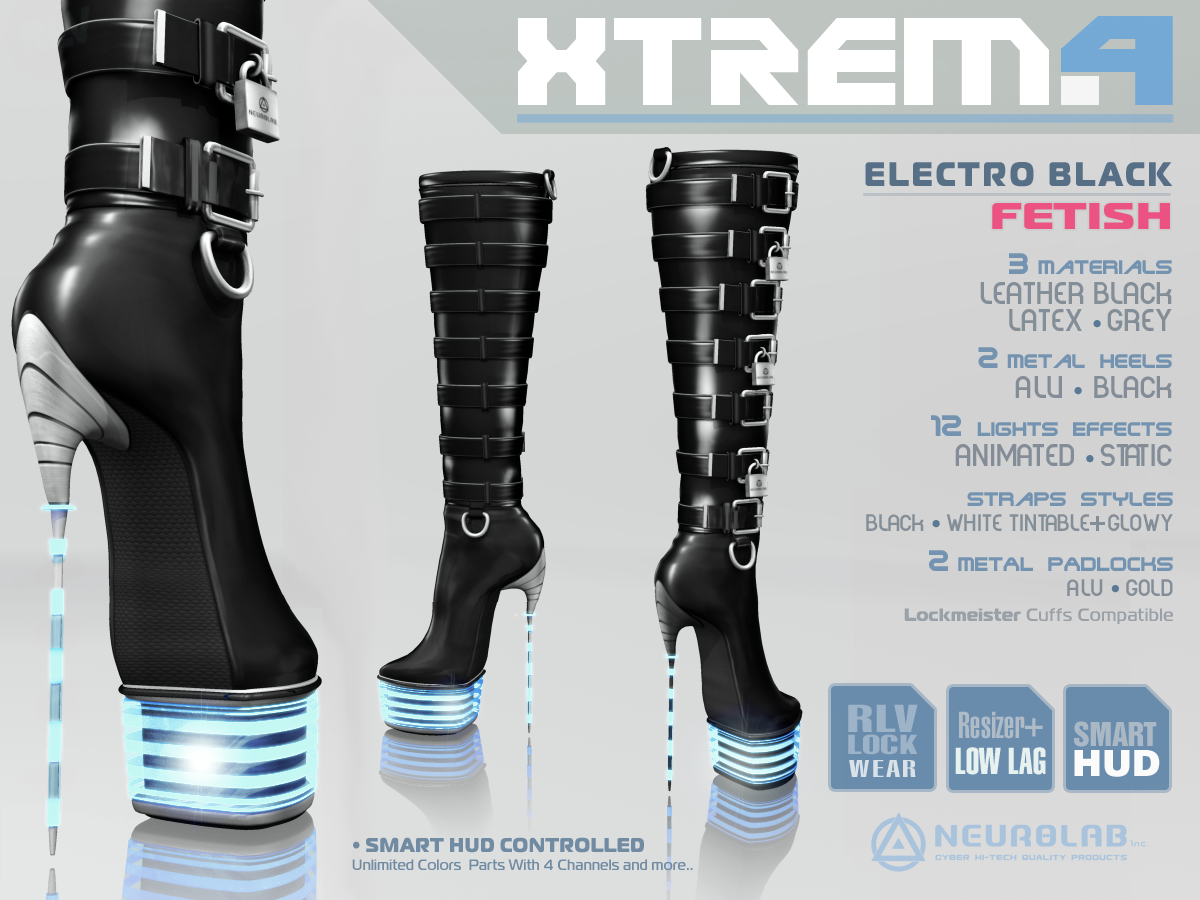 Xtrema Boots (Electro) Collection