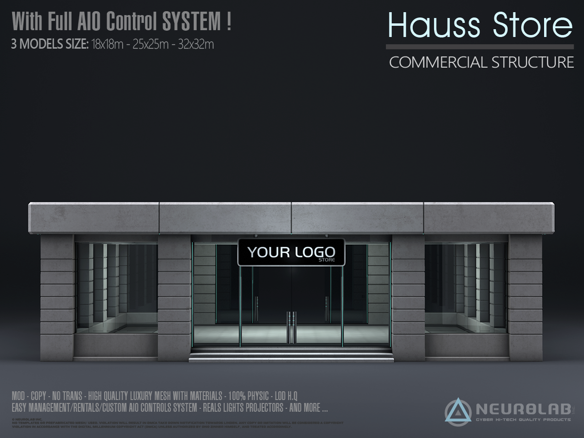 HAUSS STORE + AIO System (V.2.5)