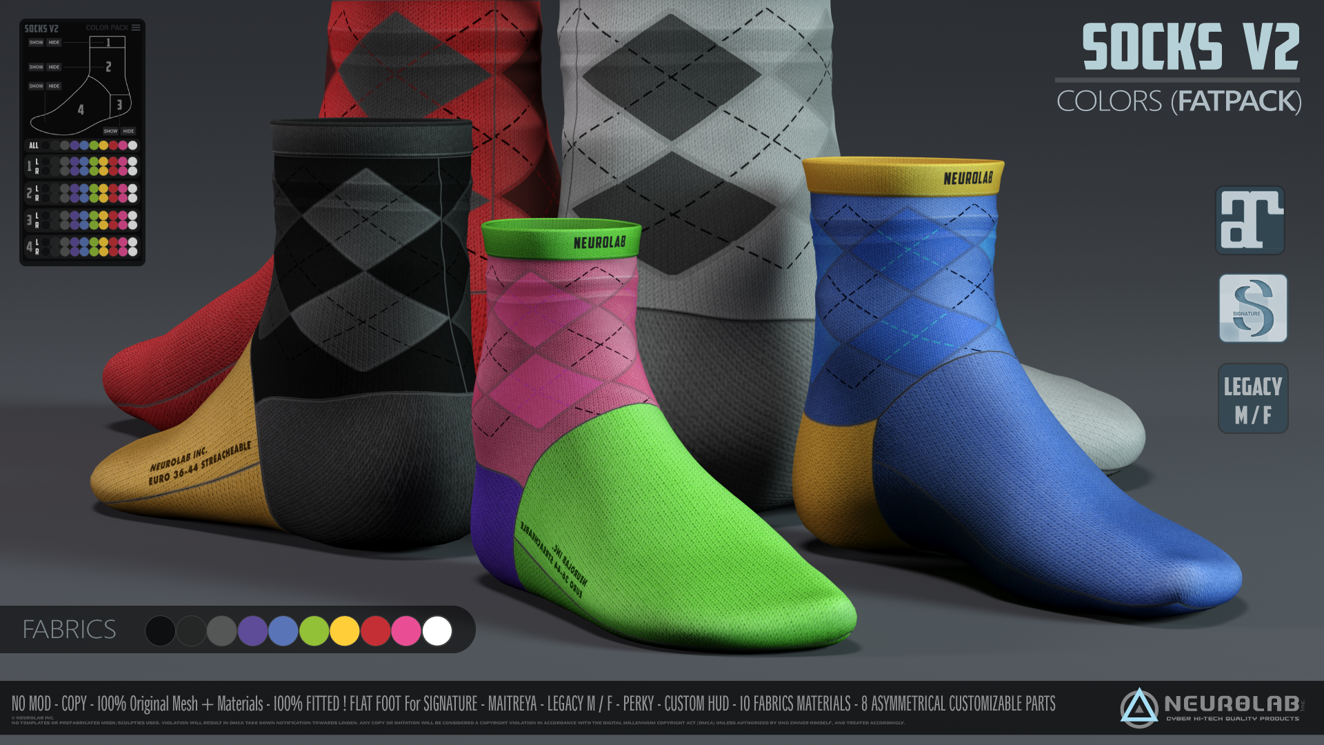 SOCKS Collection (FITTED) [V.2] *Update*